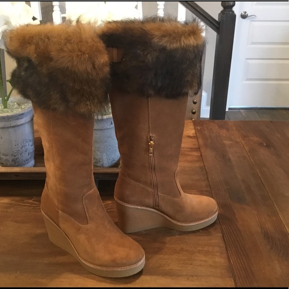 ce9f4034362 New Ugg Valberg Boots Chestnut 7.5 M NWT